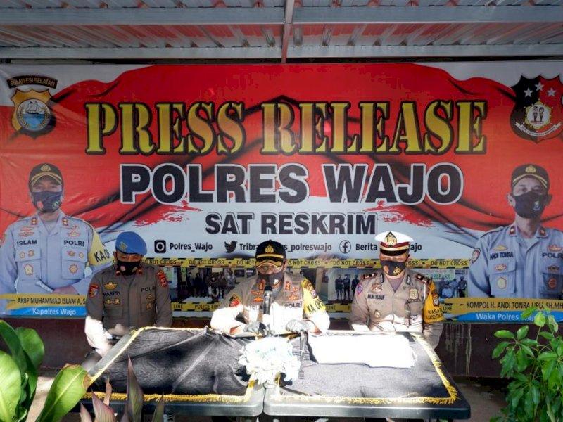 Press Release Polres Wajo.