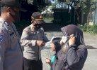 Personel Polsek Makassar Gelar KKYD, Sasar Warga yang tak Pakai Masker
