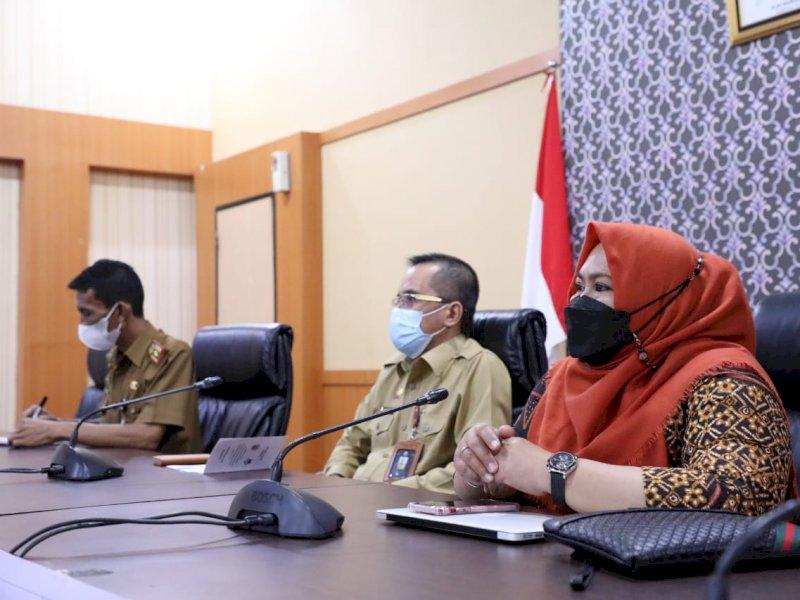 Sekretaris Daerah Kabupaten (Sekda) Bantaeng, Abdul Wahab membuka secara resmi pertemuan Teknis Hasil Inventarisasi SDALH Vulkanik Malino (ist)