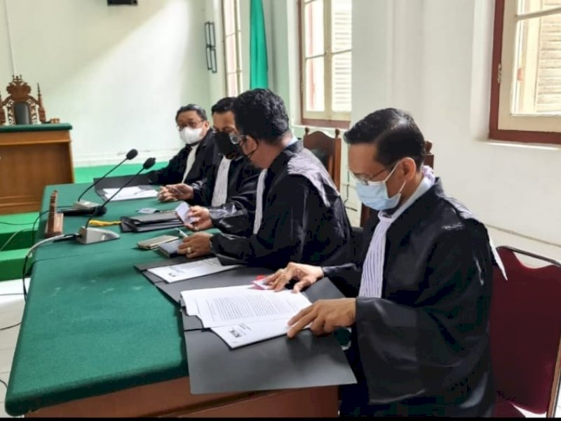 Sidang kasus dugaan gratifikasi Nurdin Abdullah, Kamis (22/7/2021).