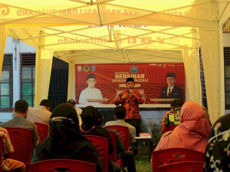 RTQ saat Sosialisasi Kelurahan Bersih Narkoba di Kelurahan Lembo.
